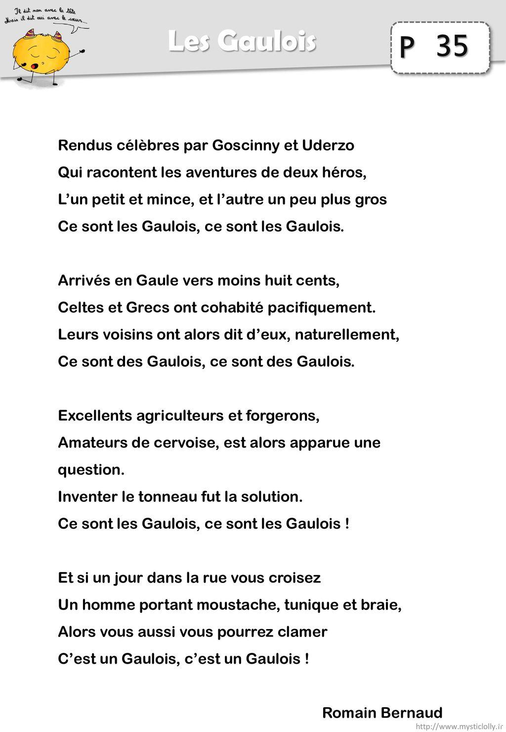 35 Les Gaulois Rendus célèbres par Goscinny et Uderzo