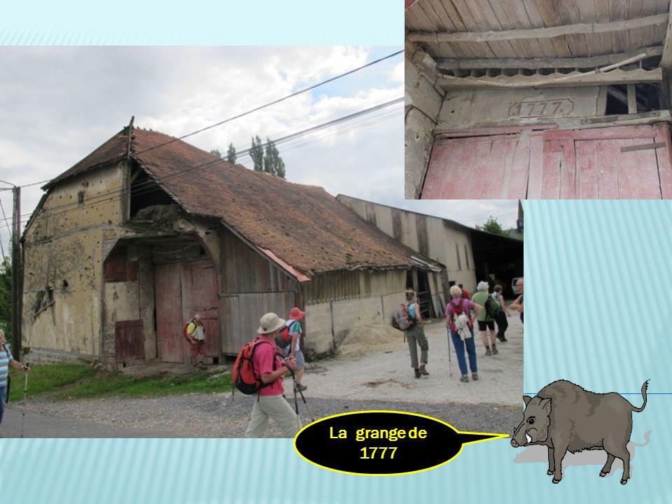 La grange de 1777