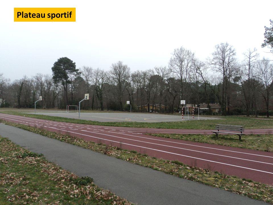 Plateau sportif