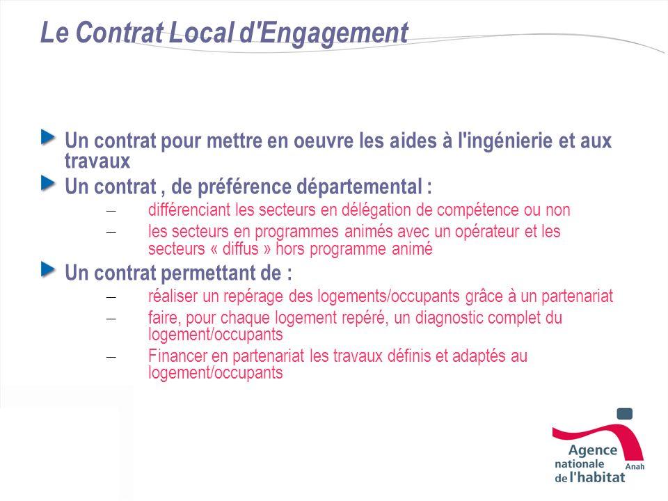 Le Contrat Local d Engagement