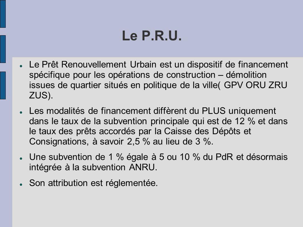 Le P.R.U.