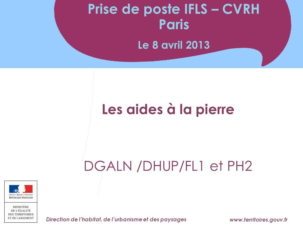 Prise de poste IFLS – CVRH Paris
