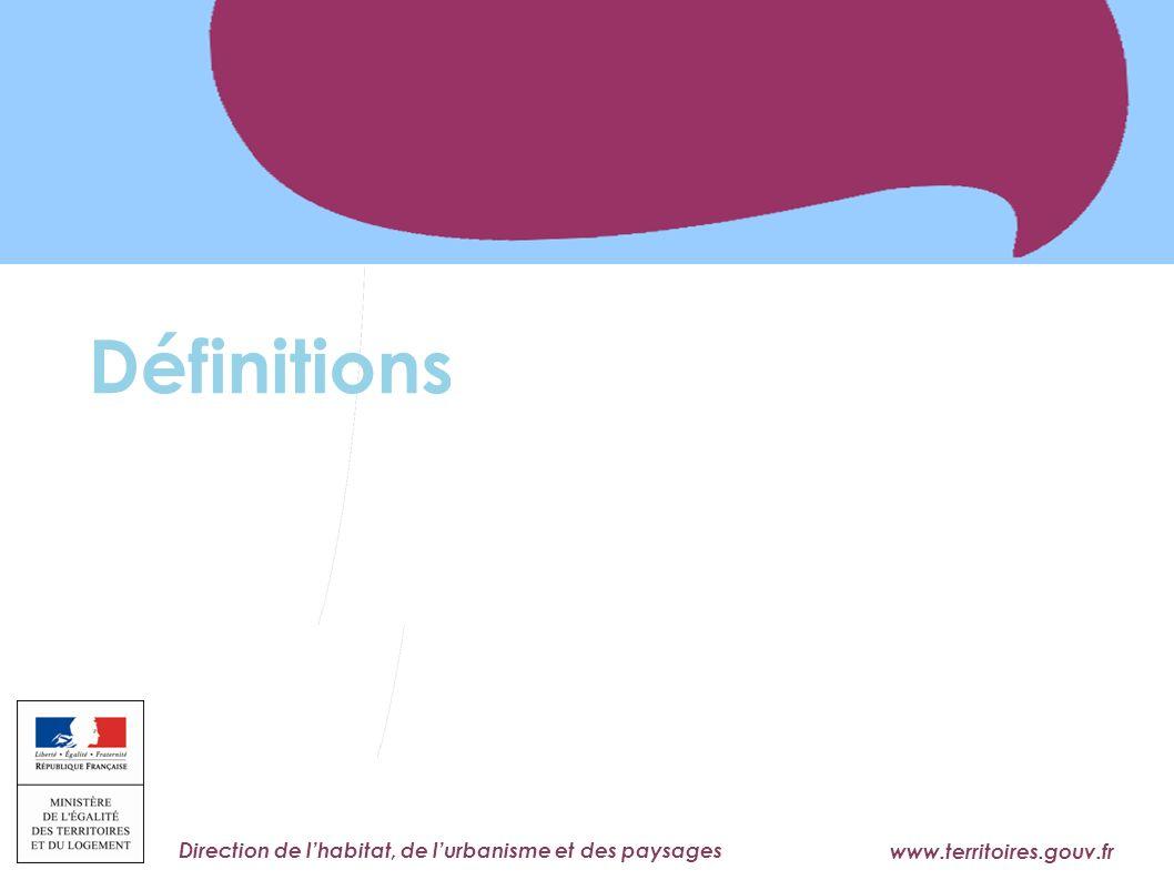 Définitions 3