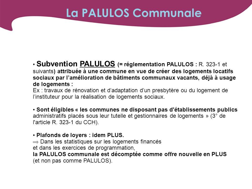 La PALULOS Communale