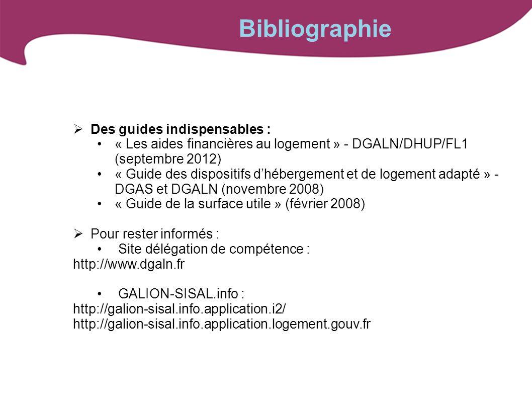 Bibliographie Des guides indispensables :