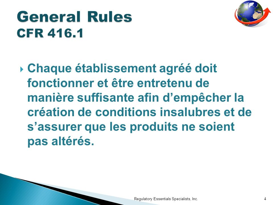 General Rules CFR 416.1