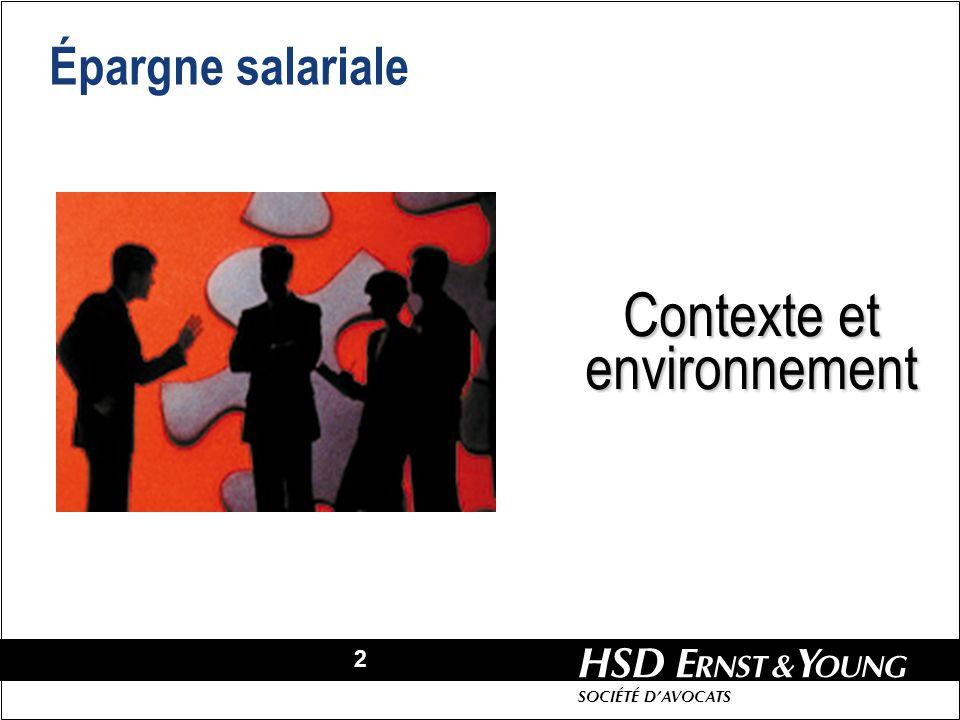 Contexte et environnement