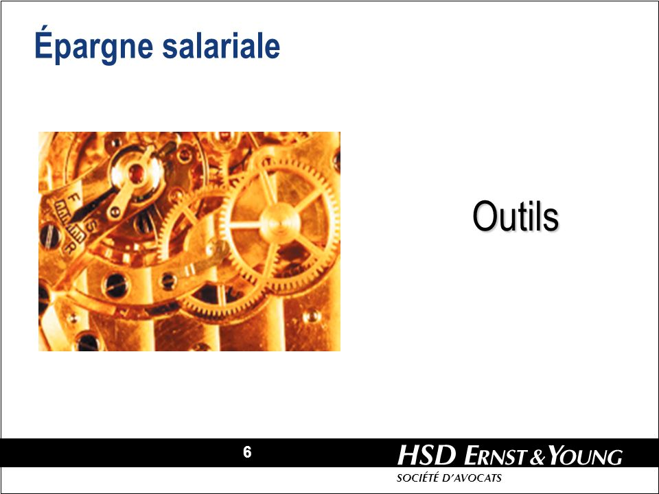 Épargne salariale Outils