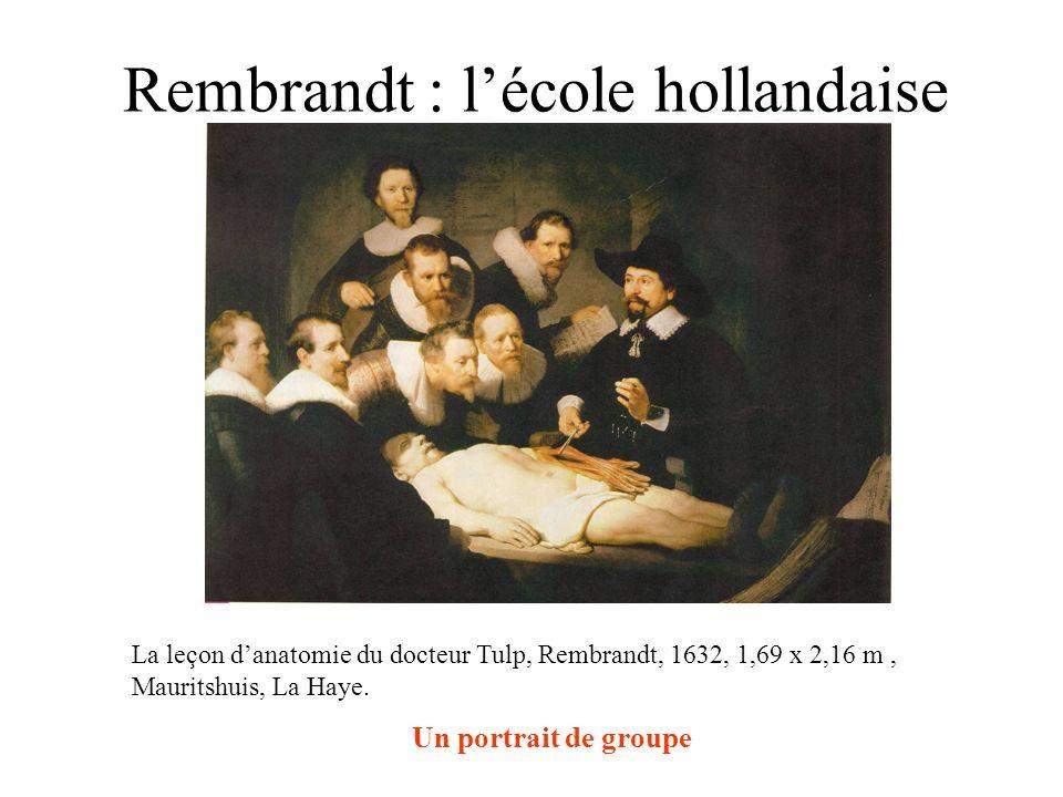 Rembrandt : l'école hollandaise
