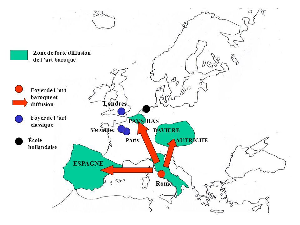 Londres PAYS-BAS ESPAGNE Rome