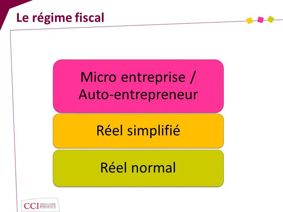 Micro entreprise / Auto-entrepreneur