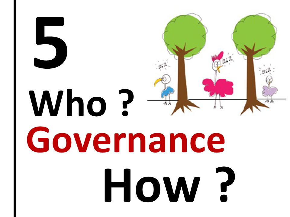 5 Who Governance How