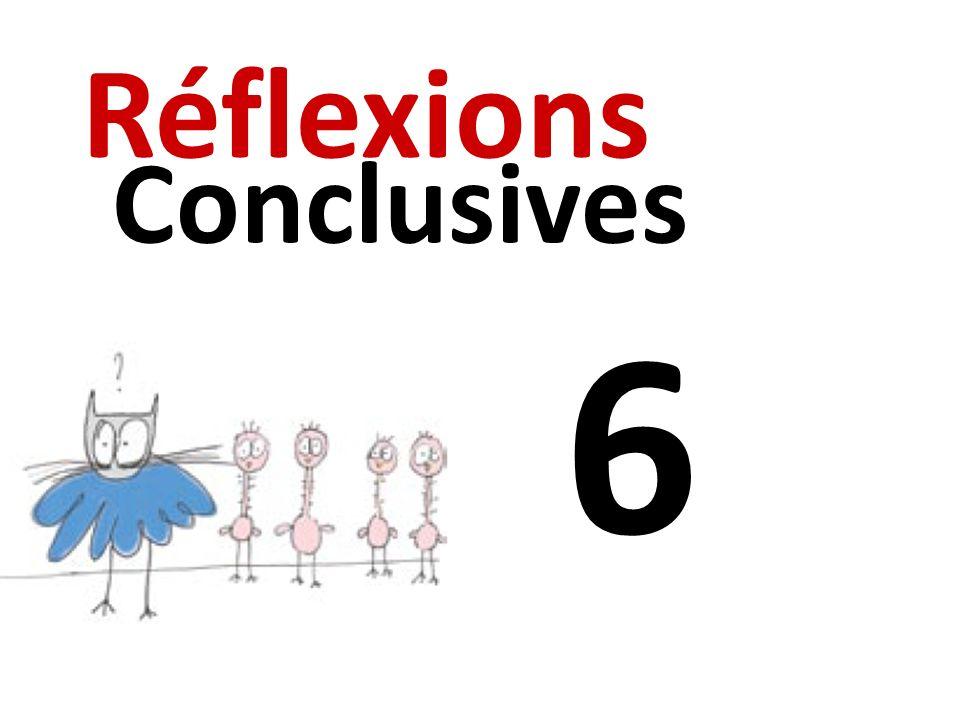 Réflexions Conclusives 6