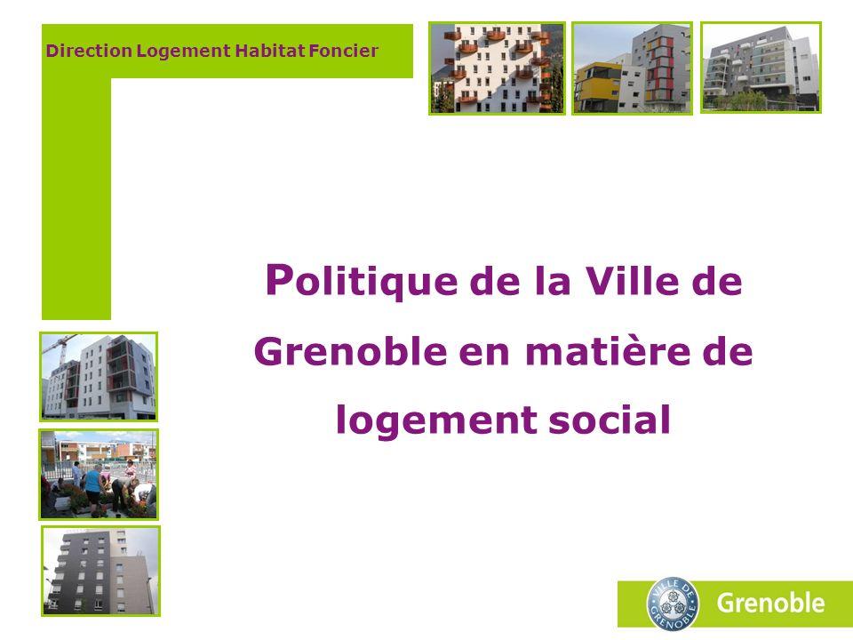 Politique de la Ville de Grenoble en matière de logement social