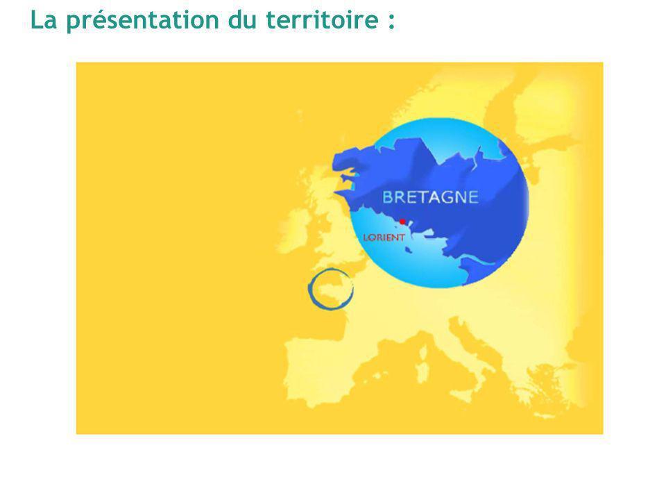 La présentation du territoire :