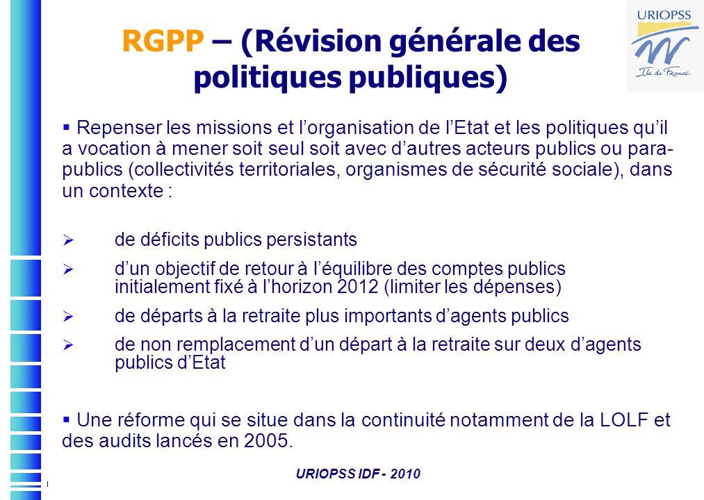 RGPP – (Révision générale des