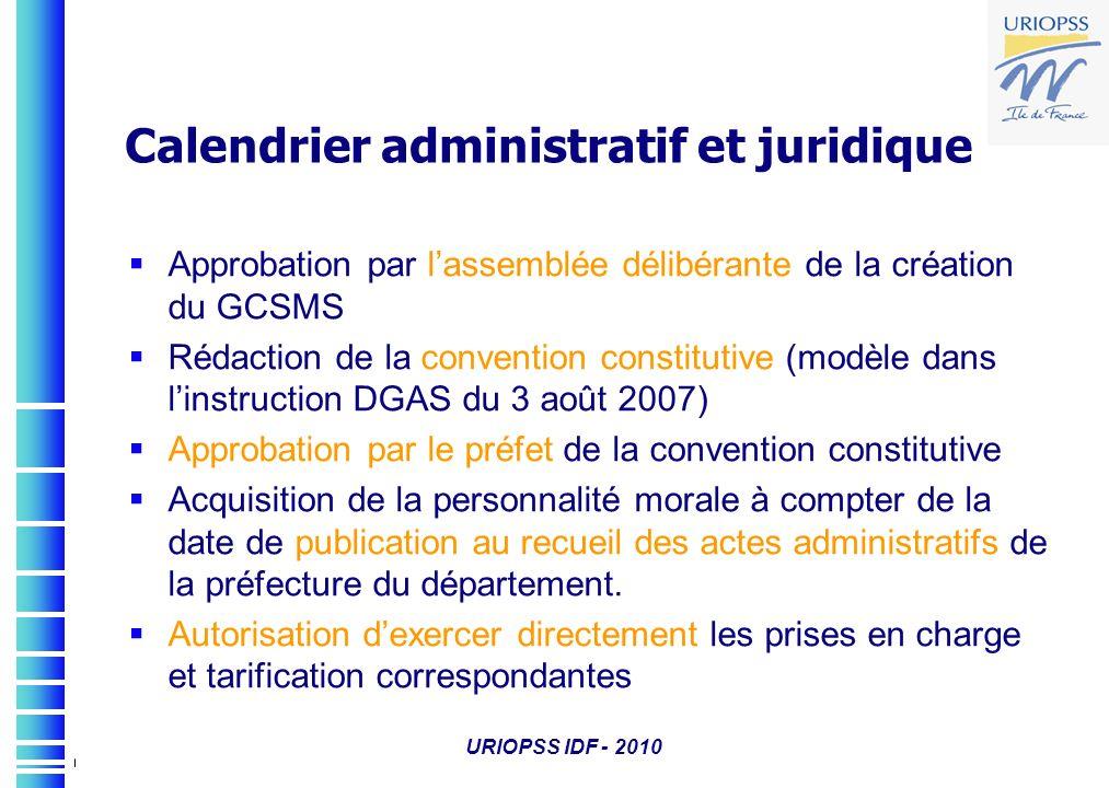 Calendrier administratif et juridique