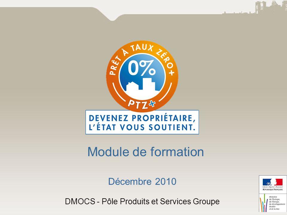 Décembre 2010 DMOCS - Pôle Produits et Services Groupe