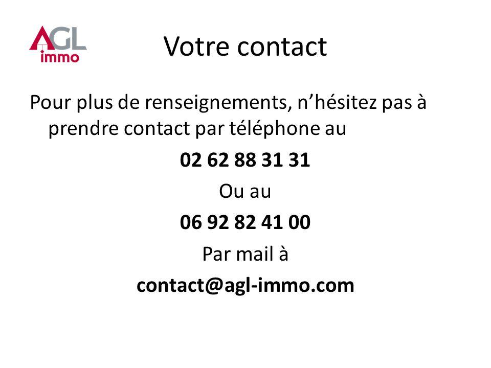 Votre contact