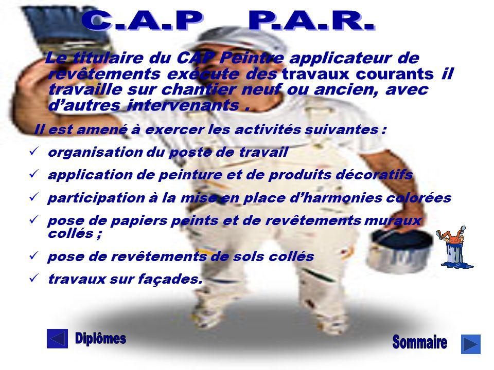CAP P.A.R C.A.P P.A.R.