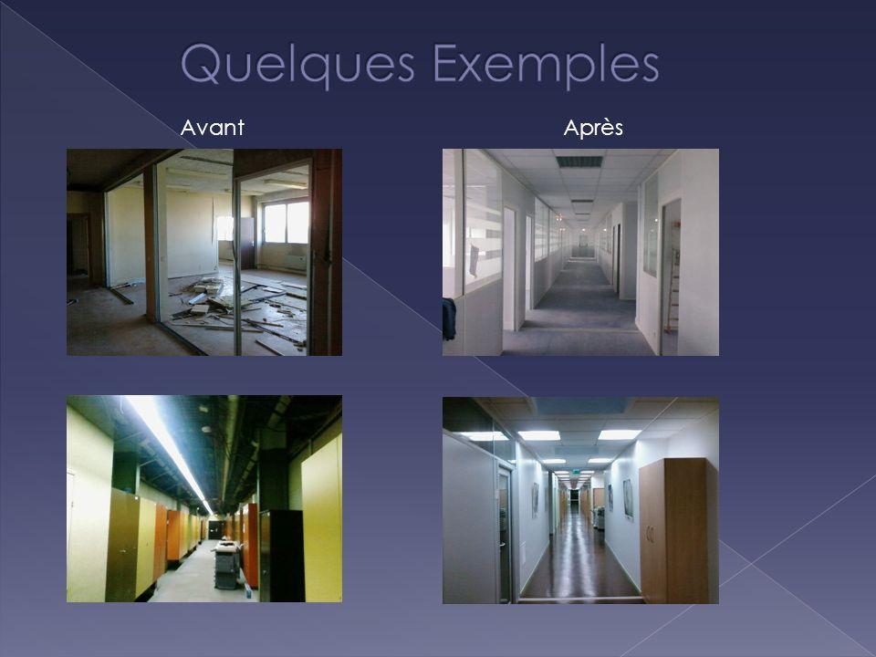 Quelques Exemples Avant Après Quelques Exemples
