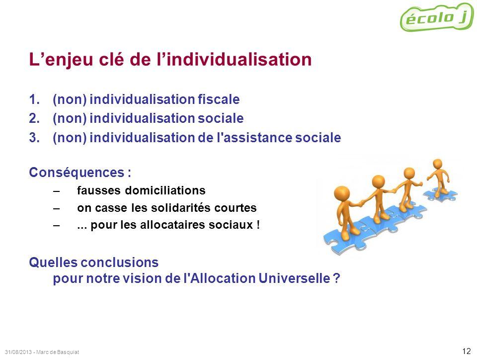 L'enjeu clé de l'individualisation