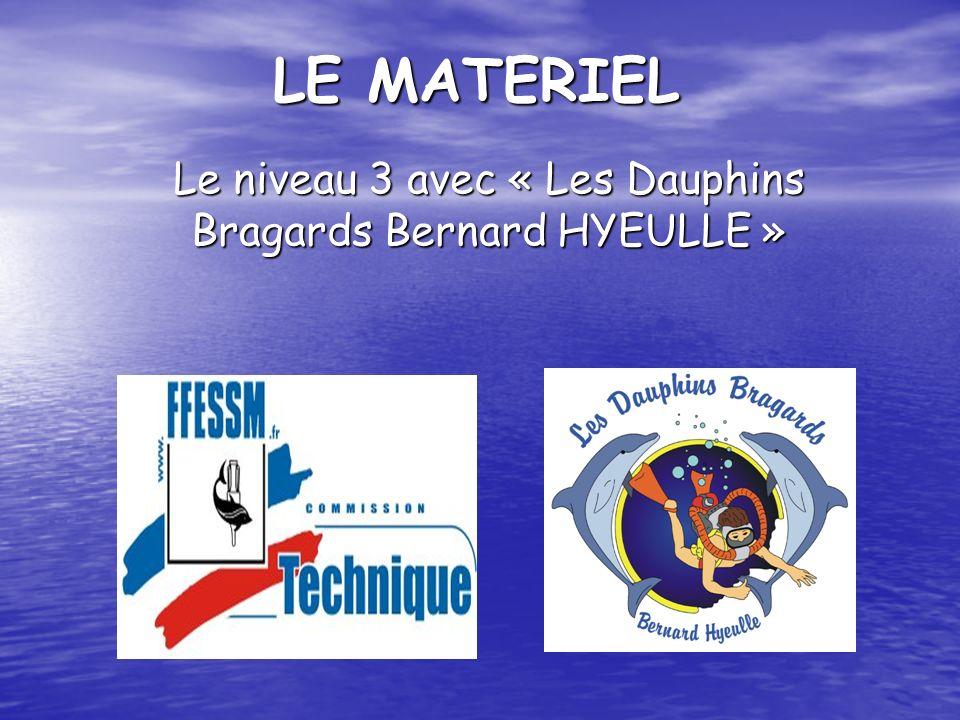 Le niveau 3 avec « Les Dauphins Bragards Bernard HYEULLE »