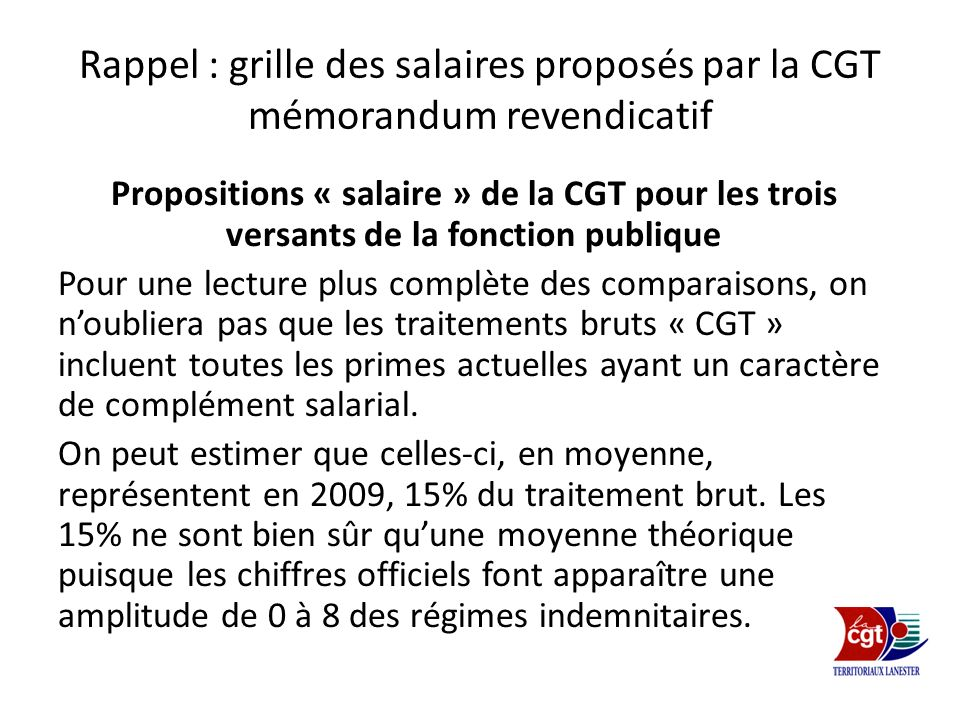 Prime de fonctions de r sultats p f r ppt video online - Grille salaire fonction publique categorie c ...