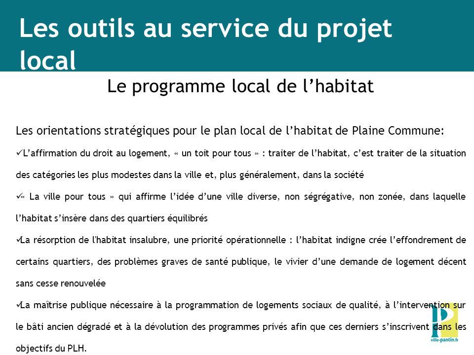 Le programme local de l'habitat