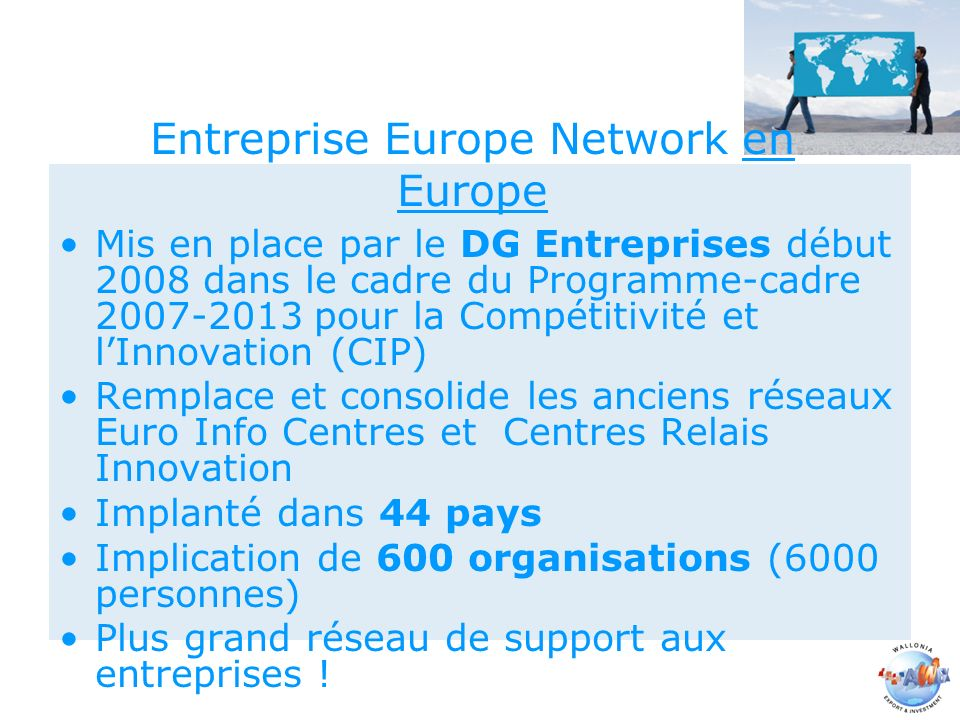 Entreprise Europe Network en Europe