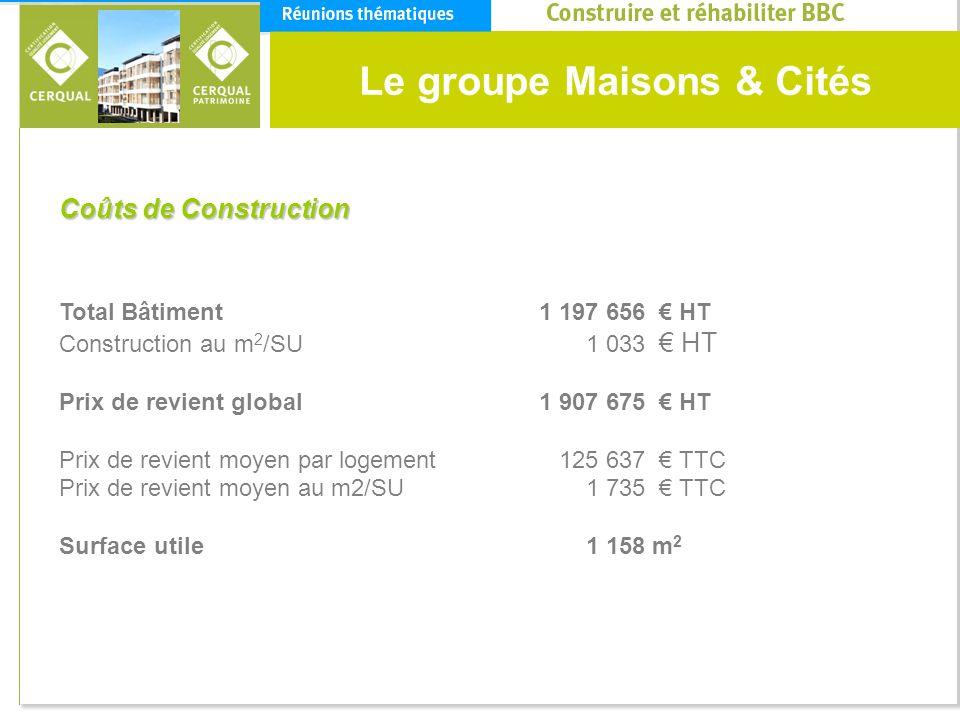 Le groupe Maisons & Cités
