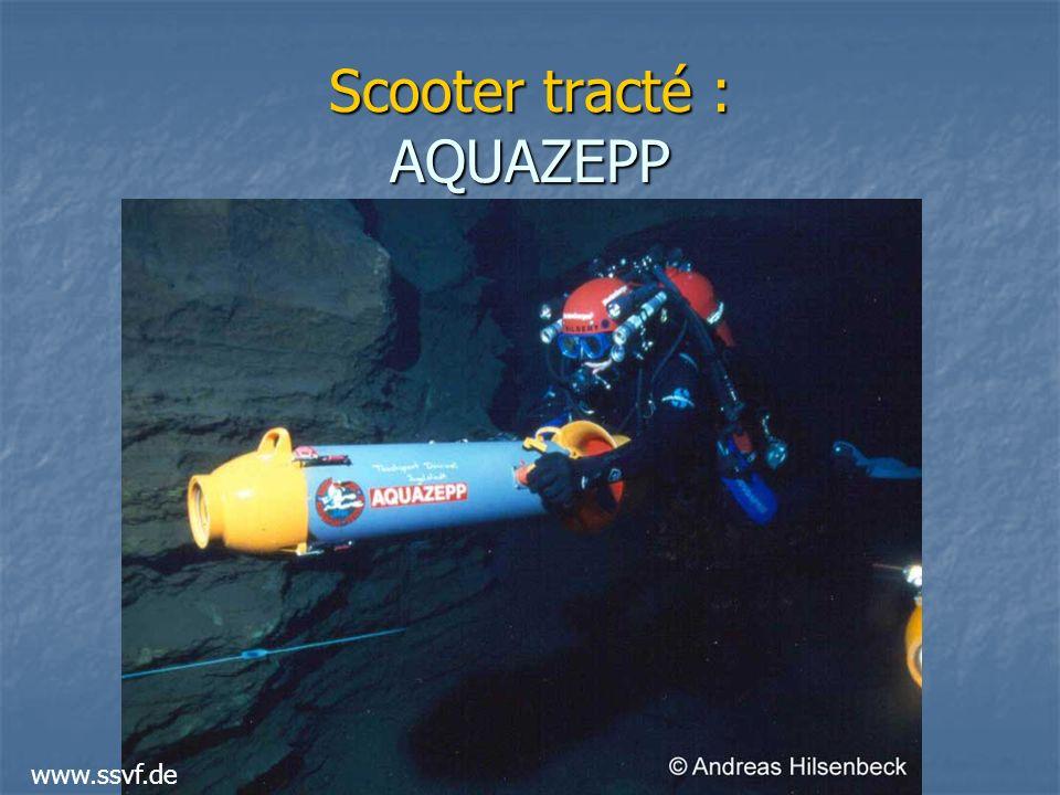 Scooter tracté : AQUAZEPP