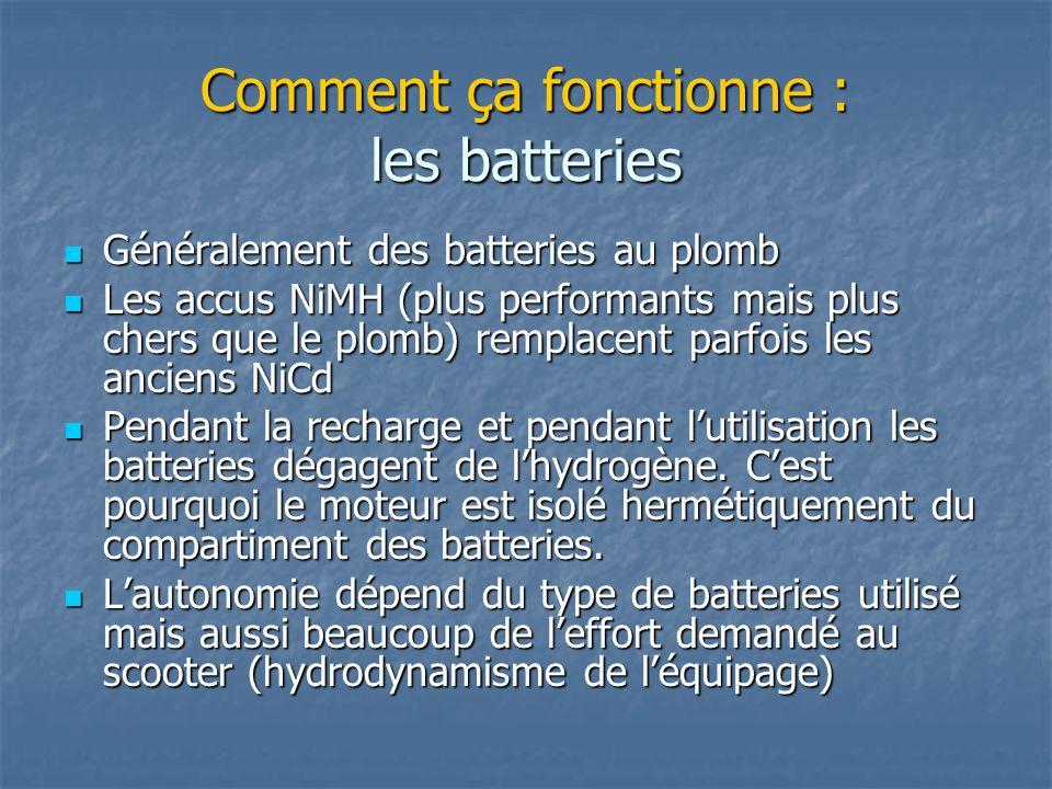 Comment ça fonctionne : les batteries