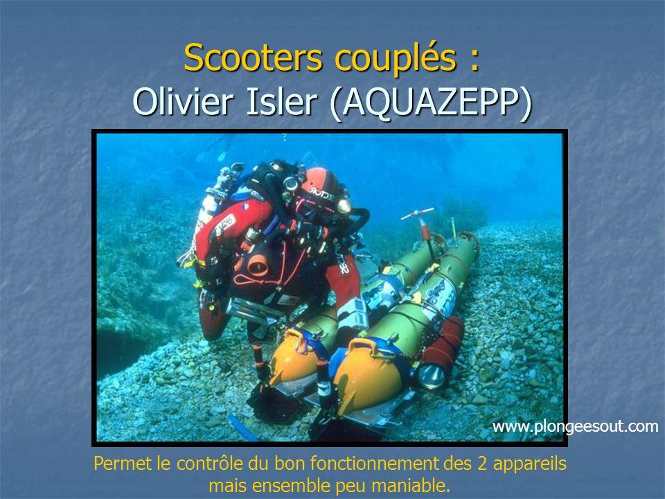 Scooters couplés : Olivier Isler (AQUAZEPP)