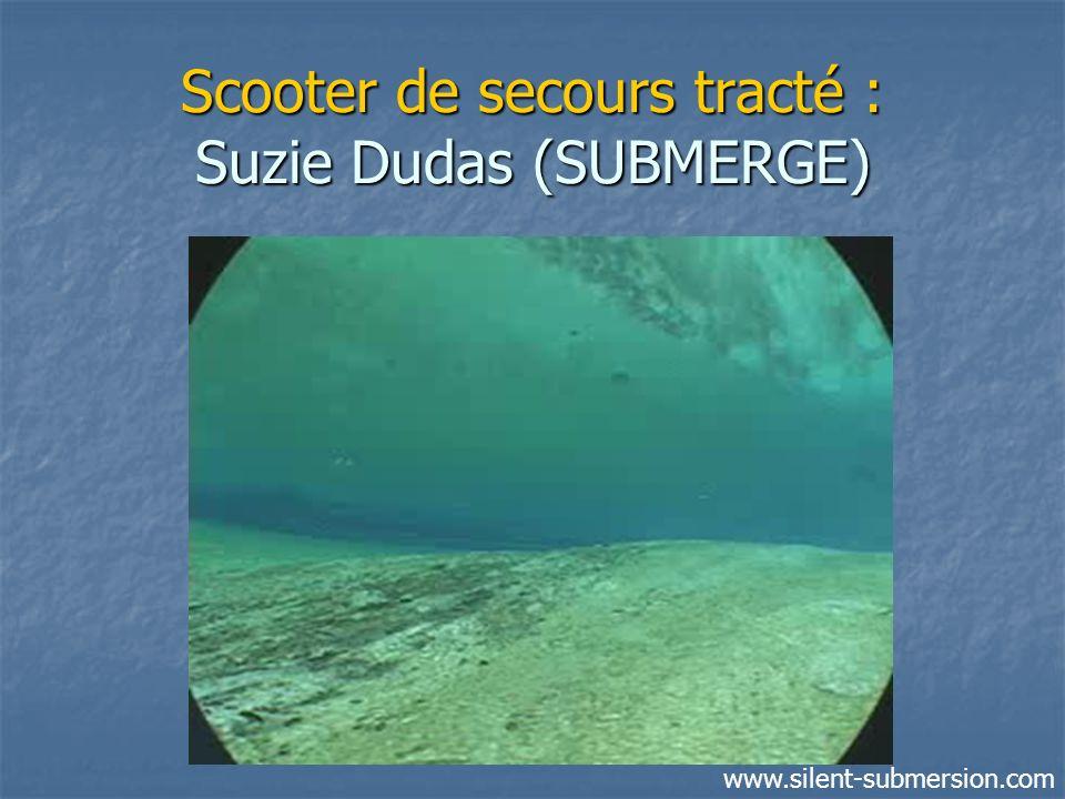 Scooter de secours tracté : Suzie Dudas (SUBMERGE)