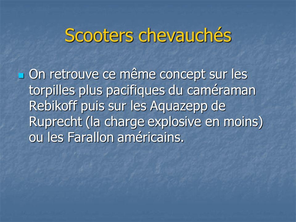 Scooters chevauchés