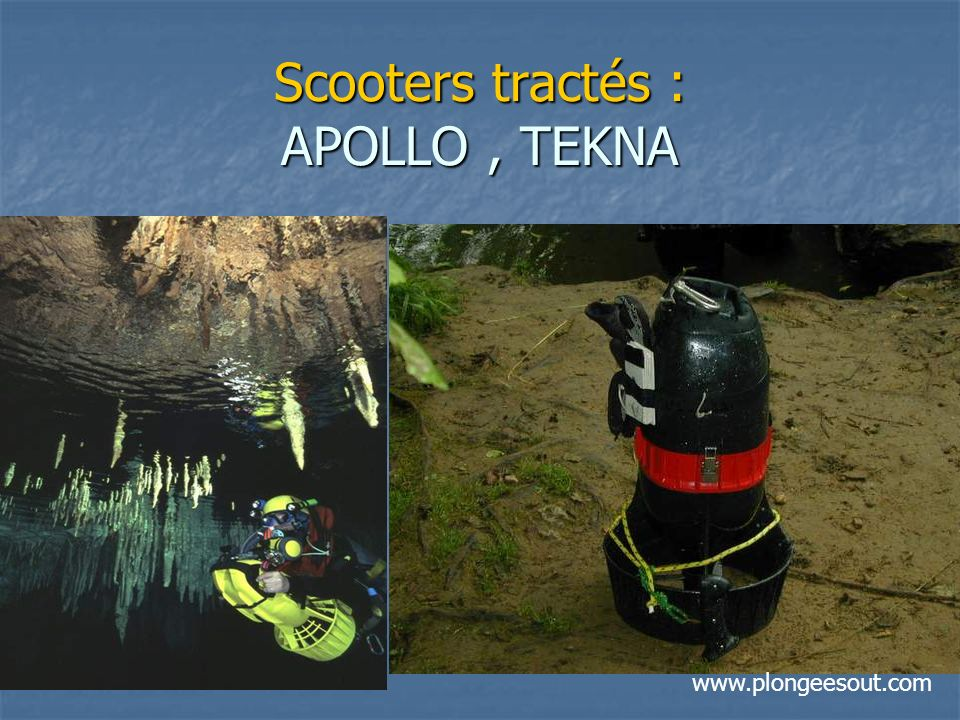 Scooters tractés : APOLLO , TEKNA
