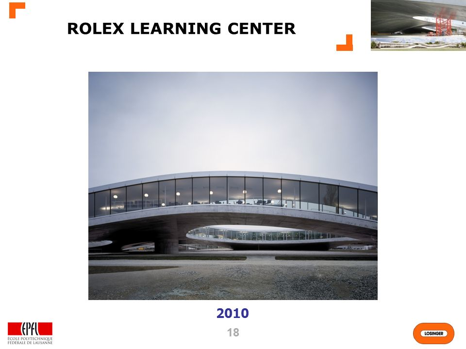 ROLEX LEARNING CENTER 2010