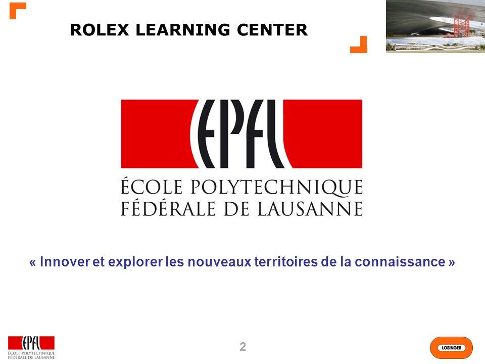 « Innover et explorer les nouveaux territoires de la connaissance »