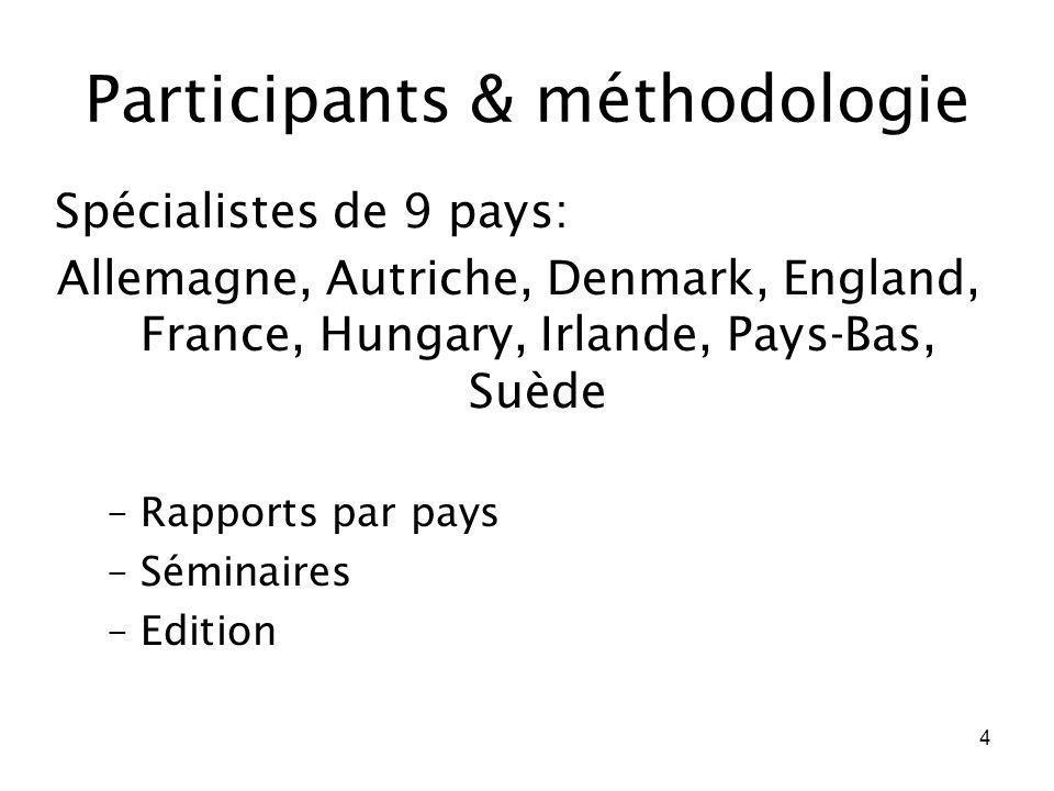 Participants & méthodologie