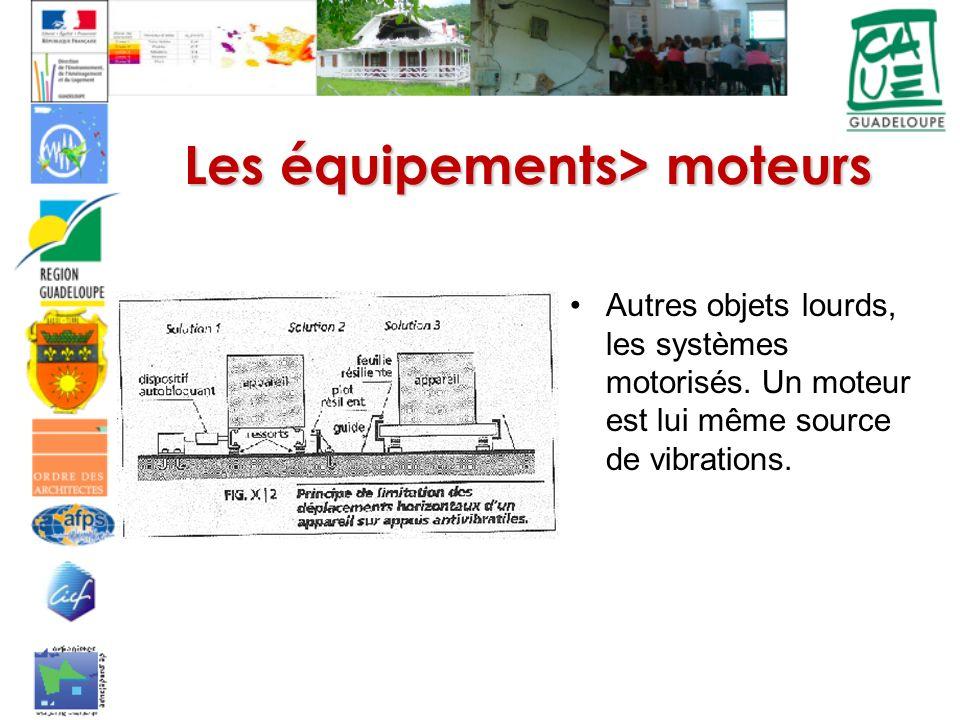 Les équipements> moteurs