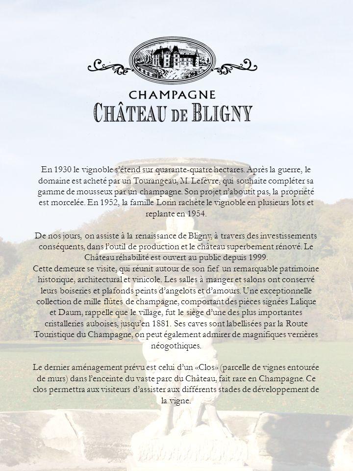 En 1930 le vignoble s'étend sur quarante-quatre hectares