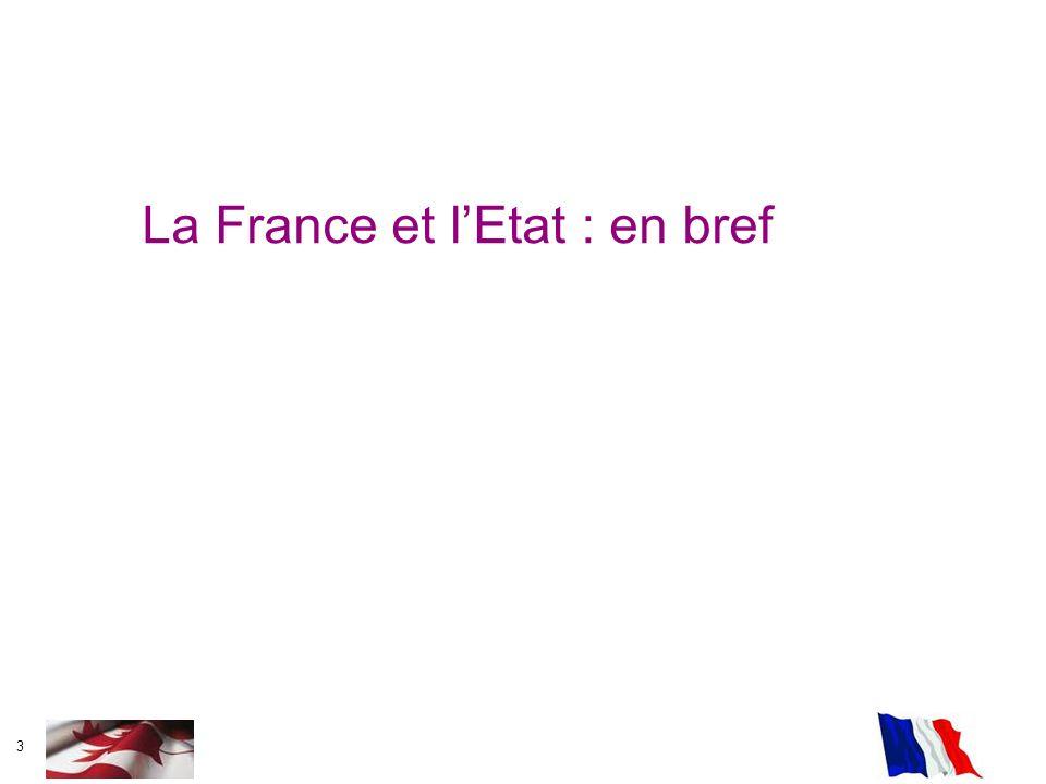 La France et l'Etat : en bref
