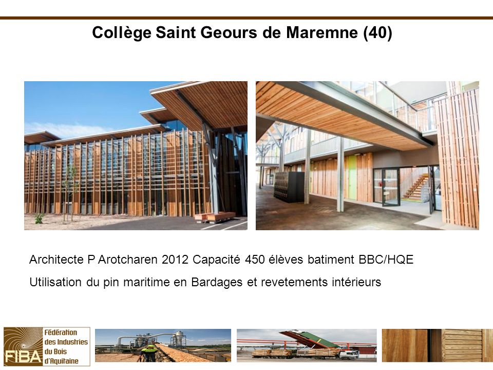 Collège Saint Geours de Maremne (40)