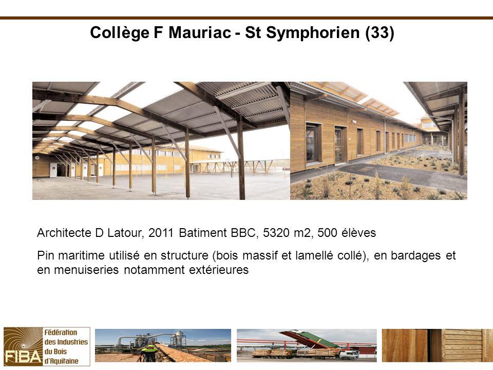 Collège F Mauriac - St Symphorien (33)