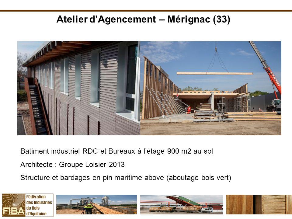 Atelier d'Agencement – Mérignac (33)