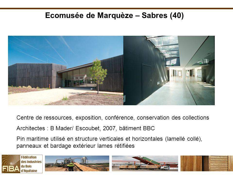 Ecomusée de Marquèze – Sabres (40)