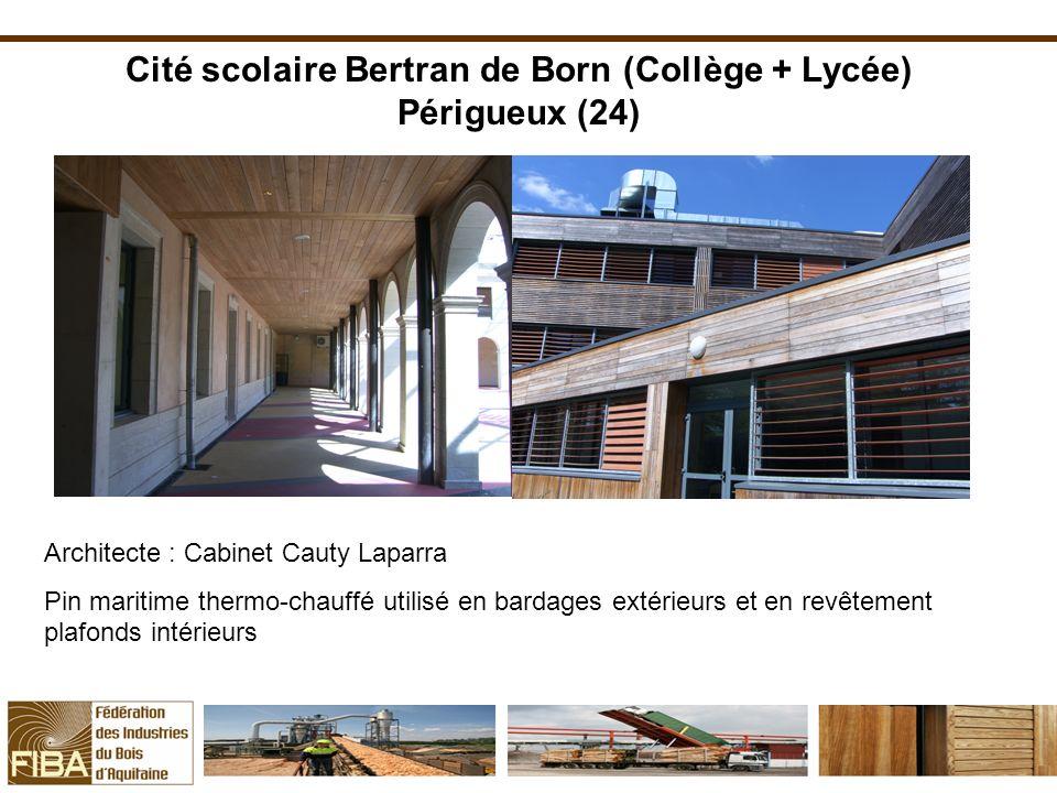 Cité scolaire Bertran de Born (Collège + Lycée) Périgueux (24)