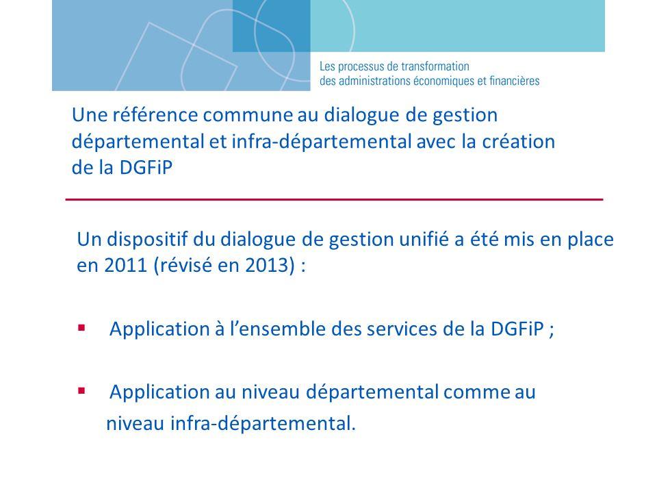 Une référence commune au dialogue de gestion