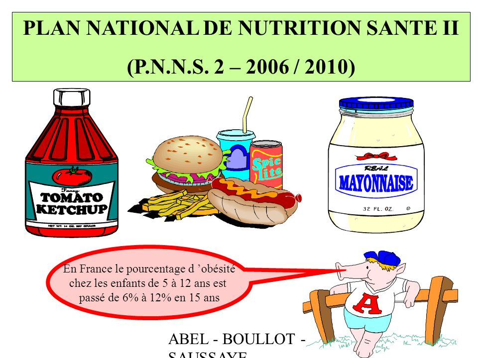 PLAN NATIONAL DE NUTRITION SANTE II